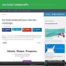 Iris. Outil collaboratif pour créer des mindmaps – Les Outils Collaboratifs