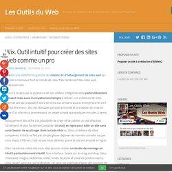 Wix. Outil intuitif pour créer des sites web comme un pro