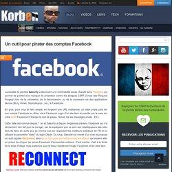 Un outil pour pirater des comptes Facebook