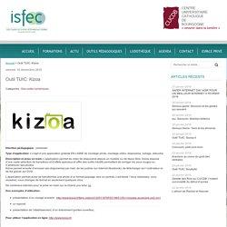 Outil TUIC: Kizoa - isfec