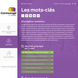 Outils d'animation