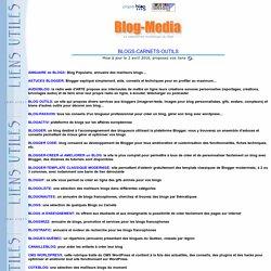 Outils et Annuaires pour blogs