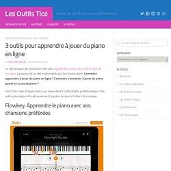 3 outils pour apprendre à jouer du piano en ligne
