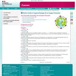 Outils d'aide à l'apprentissage de la langue française - Casnav