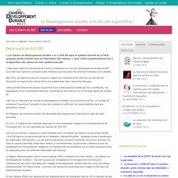 Les Cahiers du DD - site présentation