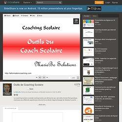 Outils de Coaching Scolaire