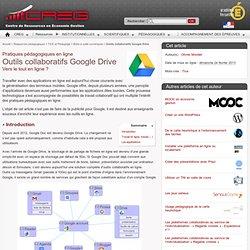 Outils collaboratifs Google Drive