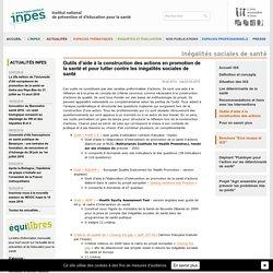 INPES - ISS: Outils d'aide à la construction des actions