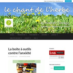 Le chant de l'herbe by Anabel Cornago