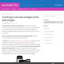 3 outils pour creer des sondages et des tests en ligne