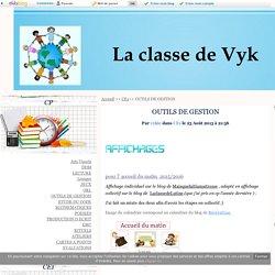 OUTILS DE GESTION - La Classe de Vyk