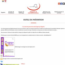 Outils de prévention – Oppelia