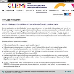 Outils de production - CLEMI
