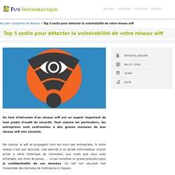 Top 5 outils pour détecter la vulnérabilité d'un réseau wifi