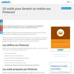 20 outils pour devenir un maître sur Pinterest - Blog freelance