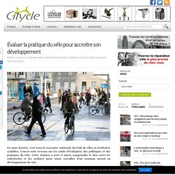 Les outils du diagnostique de la pratique du vélo en ville