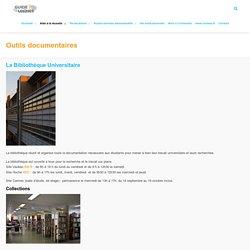 Outils documentaires - Guide de l'étudiant