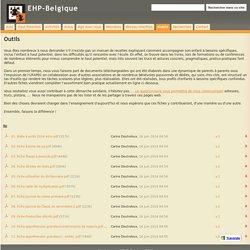 Outils - EHP-Belgique