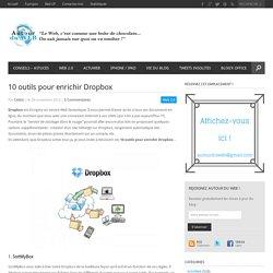 10 outils pour enrichir Dropbox