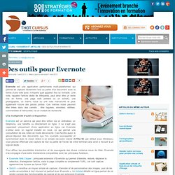 Des outils pour Evernote