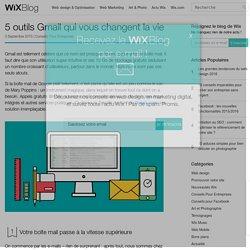 5 outils Gmail qui vont vous changer la vie