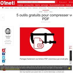 5 outils gratuits pour compresser vos PDF