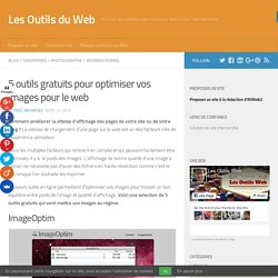 5 outils gratuits pour optimiser vos images pour le web