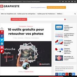 10 outils gratuits pour retoucher vos photos