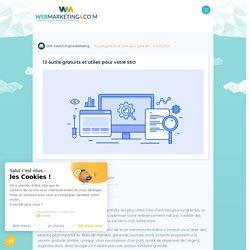 ▷ 13 outils gratuits et utiles pour votre SEO