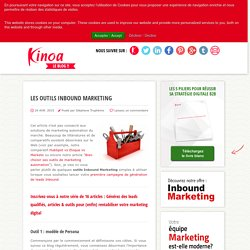 Les outils Inbound Marketing