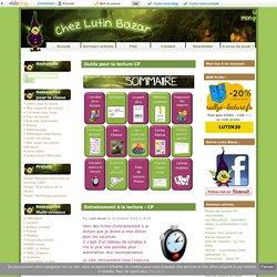 Outils pour la lecture CP-Lutin Bazar Blog