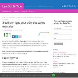 3 outils en ligne pour créer des cartes mentales – Les Outils Tice