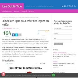 3 outils en ligne pour créer des leçons en vidéo – Les Outils Tice