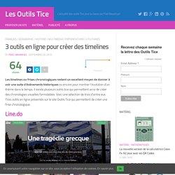 3 outils en ligne pour créer des timelines – Les Outils Tice