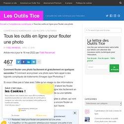 3 outils en ligne pour flouter une photo