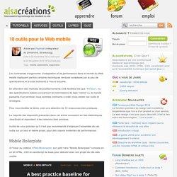 10 outils pour le Web mobile