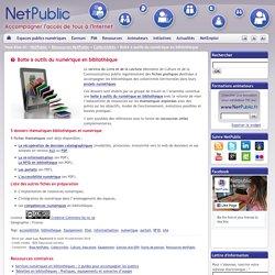 Boite à outils du numérique en bibliothèque