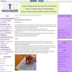 Outils numériques pour lire et écrire - Autisme 71 - GEPAP