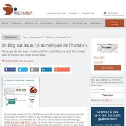 Un blog sur les outils numériques de l'historien
