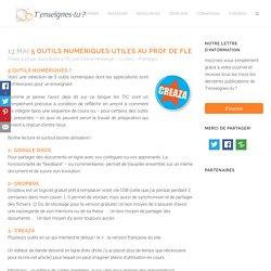 5 outils numériques utiles au prof de FLE -