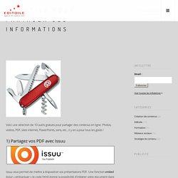 10 outils pour partager ses informations