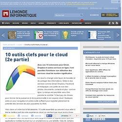 10 outils clefs pour le cloud (2e partie)