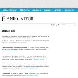 Boite à outils - Le Planificateur - The Planner - Le Planificateur – The Planner