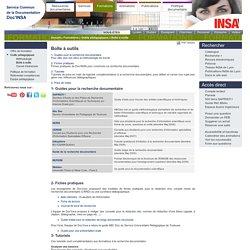 Portail documentaire SCD Doc'INSA