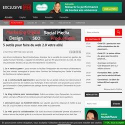 5 outils pour faire du web 2.0 votre allié