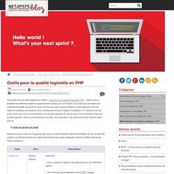 Outils pour la qualité logicielle en PHP