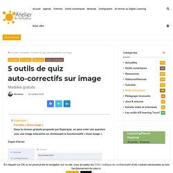 5 outils de quiz auto-correctifs sur image