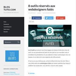 8 outils réservés aux webdesigners futés