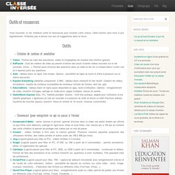 Outils et ressources : guide
