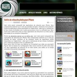 Outils de retouche photo pour iPhone - Articles et dossiers - Qu